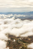 菲尼斯亚利桑那天空 库存图片