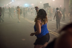 菲尼斯王牌集会抗议 免版税库存图片