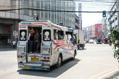 菲律宾人日常生活在宿务市菲律宾 图库摄影