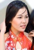 菲律宾女人 免版税库存照片