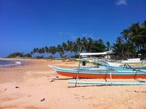 菲律宾孪生海滩2 免版税库存图片