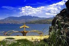 菲律宾小船在苏比克湾。 免版税库存照片