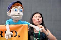 菲律宾木偶戏 免版税库存图片