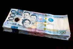 1000菲律宾比索票据 免版税库存照片