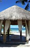 菲律宾海滩温泉 库存照片