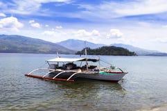 菲律宾渔船。 免版税库存图片