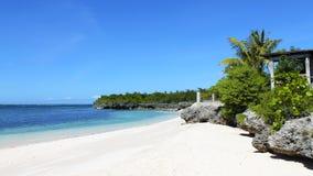 菲律宾热带天堂海滩 库存图片