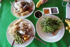 菲律宾烹调 图库摄影
