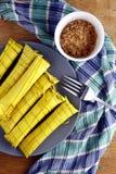 菲律宾纤巧食物 免版税库存照片
