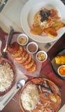 菲律宾膳食 免版税库存照片