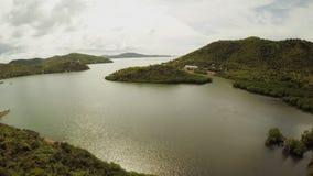菲律宾自然 小山和海岛 Busuanga海岛 Coron 巴拉望岛 影视素材
