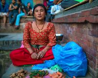 菲律宾蔬菜批发市场 库存图片