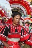 菲律宾部族妇女 库存图片