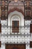 菲斯房子摩洛哥音乐视窗 图库摄影