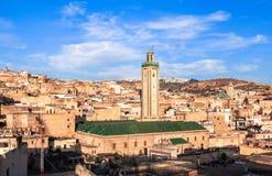 菲斯麦地那在摩洛哥 免版税库存照片