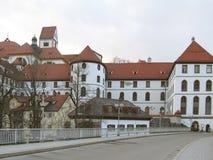 菲森小德国镇的老和国内建筑学的秀丽  库存照片