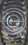 菲涅耳透镜,从灯塔 库存照片
