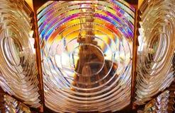菲涅耳透镜 库存图片