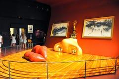 菲盖尔, SPAIN-AUGUST 6 :梅・蕙丝屋子在8月6,2009的大理剧院在菲盖尔。 图库摄影