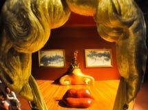 菲盖尔, SPAIN-AUGUST 6 :梅・蕙丝屋子在8月6,2009的大理剧院在菲盖尔。 免版税库存图片