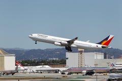 菲航A340-313X 库存图片