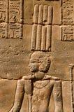 菲莱寺庙部份看法  菲莱寺庙在阿斯旺水坝被折除了并且被重新召集了, Egyp的1970年完成前 库存照片
