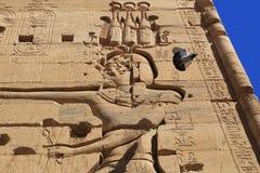 菲莱寺庙 库存照片