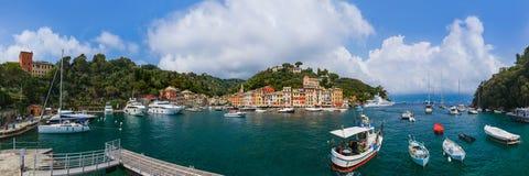 菲诺港豪华旅游胜地-意大利 免版税图库摄影