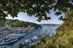 菲诺港,意大利,其中一个最佳的地方在世界上 库存图片