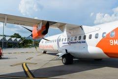 萤火虫ATR-72 免版税图库摄影