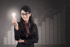 营业利润解决方法 免版税库存图片