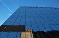 营业所玻璃大厦 库存图片
