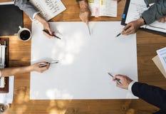 营业通讯公司企业家概念 免版税图库摄影