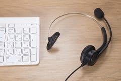 营业通讯和支持概念 免版税图库摄影