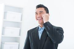 营业通讯 免版税图库摄影