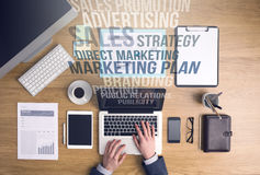 营销和企业概念