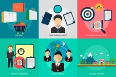营销和管理 免版税库存照片