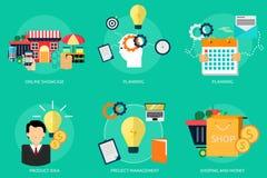 营销和管理 免版税图库摄影