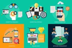 营销和管理 库存照片