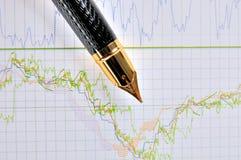 营销股票趋势 免版税库存图片