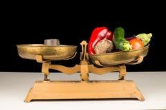 营养平衡 免版税图库摄影