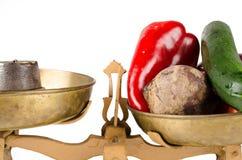 营养平衡 库存图片