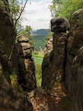 萨克森瑞士,德国 免版税库存照片