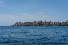 萨兰达-从海的神色 图库摄影