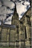 萨利大教堂,英国 库存照片