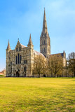 萨利大教堂 库存图片