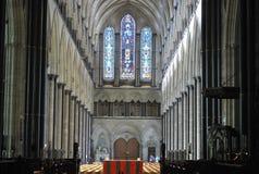 萨利大教堂 免版税库存图片