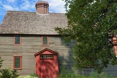 萨利姆马萨诸塞撒母耳皮克曼房子 库存图片