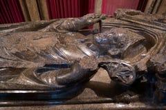 萨利, WILTSHIRE/UK - 3月21日:Giles de Bridport B坟茔  免版税图库摄影