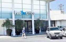 萨加门多,美国- 9月19日:20的9月19日,联邦快递公司办公室 库存图片